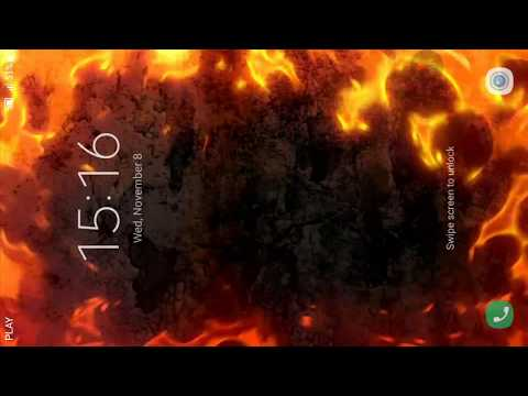 Fire Edges Live Wallpaper