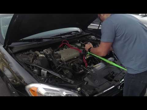 2007 Chevy Impala LTZ 3.9L Changing Sparkplugs and Wires