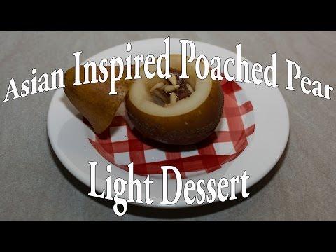 Classic Asian Poached Pear - Dessert Recipe # 8