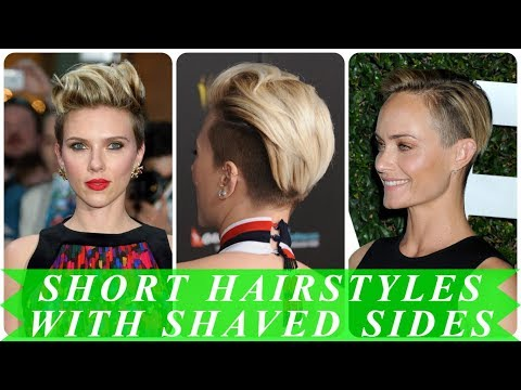 20 popular ideas for womens short shaved sides hairstyles 2018