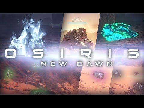Osiris: New Dawn - ALL ORE LOCATIONS! (Guide / Tutorial / Map)