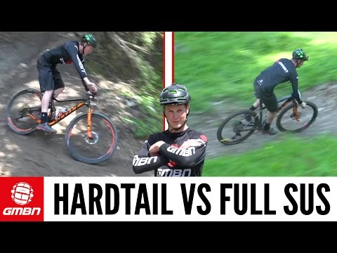 Hardtail Vs. Full Suspension Mountain Bike - What is Faster?