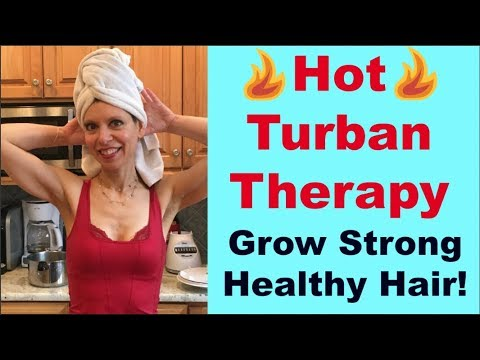 Hot Turban Therapy For Your Hair | Hot Towel Steam Treatment At Home Remedy | Repair & Grow Hair