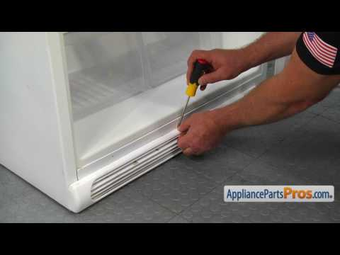 Refrigerator Kickplate Grille (part #241839405) - How To Replace