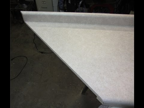 MITER A LAMINATE COUNTERTOP- How to