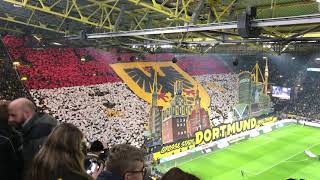 BvB Borussia Dortmund - Eintracht Frankfurt (14.02.2020) Choreo