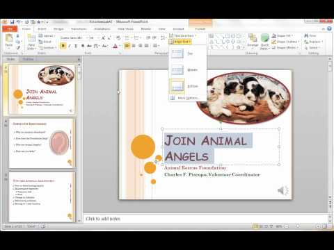 MS Powerpoint Lab2 Key Concepts 1-4
