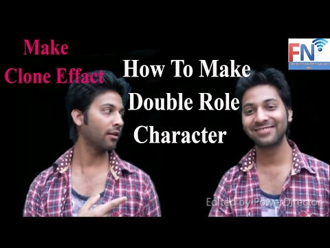 How To Make A Double Role Character || Movie me Double Role  Kaise Banate Hai