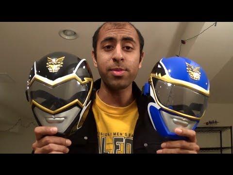 Blue/Black Ranger Masks [Power Rangers Megaforce]