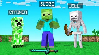 TURNING Into BAD MOBS That We KILL In Minecraft!