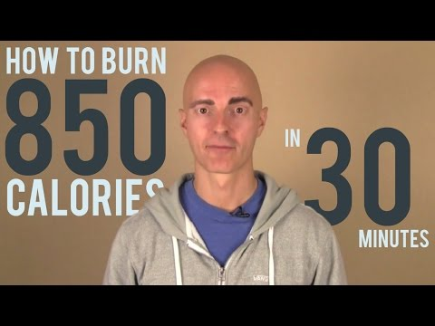 How to Burn 850 Calories in 30 Minutes