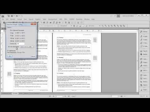 FrameMaker and WORD: Anchored Frames in Outer Margins