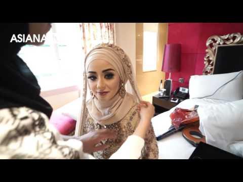 Zukreat Asian Bride Makeover by Asiana Wedding Magazine