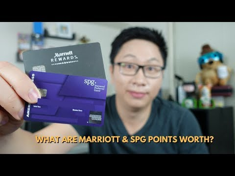 What are Marriott & SPG Points Worth?