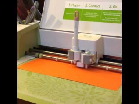 Making Place Cards using the Cricut Explore