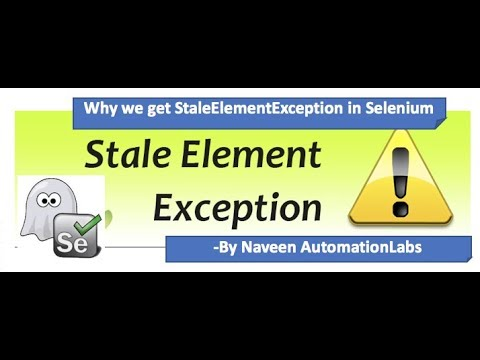 Mystery of StaleElementReferenceException in Selenium WebDriver