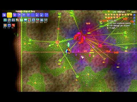 Terraria 1.3.0.7: Expert Plantera kill (Mage)