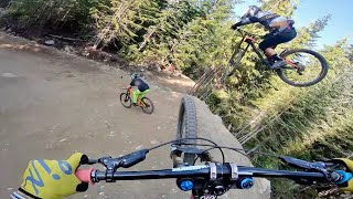 Riding in Whistler Mountain Bike Park with Brendog and Blake Samson!