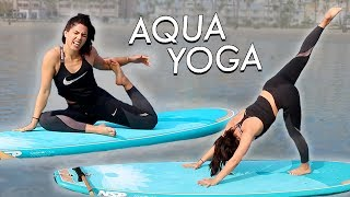 Download DOING YOGA ON A SURFBOARD | MeganBatoon Video
