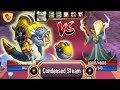 Download  Monster Legends - Stake level 130 vs Yntec level 130 Steampunk Beasts Island combat review MP3,3GP,MP4