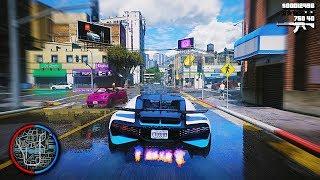 ▻ GTA 6 Graphics ✪ REDUX Cars Gameplay! Ultra Realistic