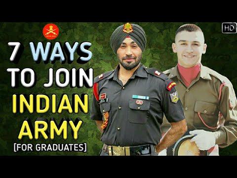 7 Ways To Join Indian Army As An Officer - भारतीय सेना कैसे ज्वाइन करें? (Hindi)