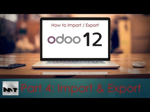 How To Import/Export Data on Odoo 12