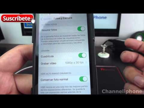 Como Grabar Vídeo Con Menos Calidad En Iphone pasar de 1080p a 720p