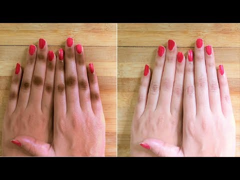 Remove Suntan & get Fair hands, Remove wrinkles from hands & get soft hands - Skin Whitening