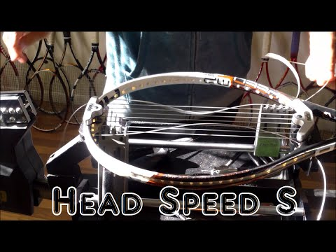 How to String a Tennis Racquet: Full String Job - Prince Neos -Head Speed S 16x19