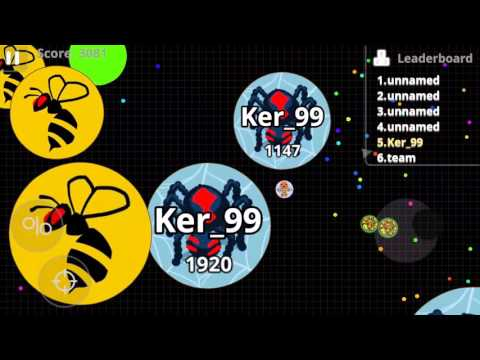 Agar.io (Android) gameplay