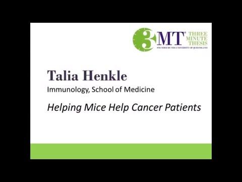 2018 Three Minute Thesis Finalist | Talia Henkle