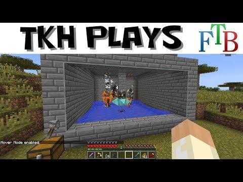 FTB Infinity Lite #24 - Automated Blaze Farm (Modded Minecraft 1.10)