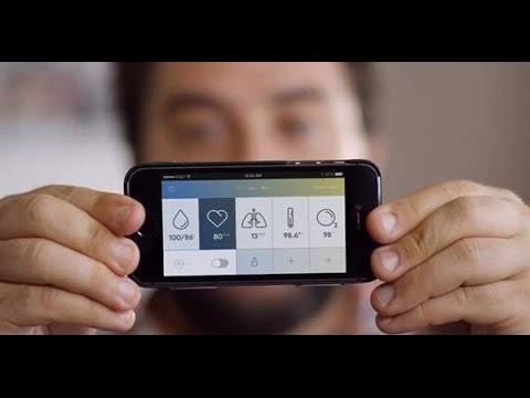 Measure BP, Heart Rate, ECG, Temp.  in phone by using Wello
