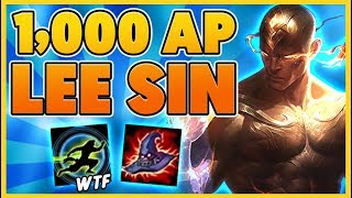 Download *HILARIOUS* LEE SIN IS AN AP ASSASIN (INSANE SHIELDS) - BunnyFuFuu Video