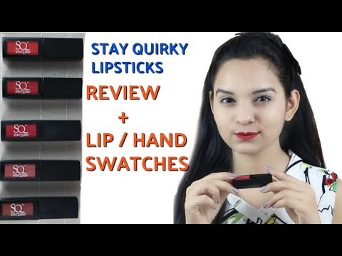 BEST LIP SHADES For Every Skin Type UNDER 300 | STAY QUIRKY LIQUID LIPSTICKS | Miss Priya TV |