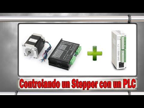 Controlando un Motor Stepper con un PLC
