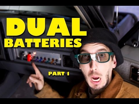 How To Install Dual Batteries : Part 1 of 2