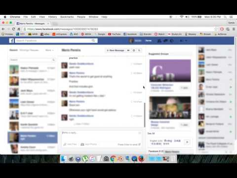 How to Search old Messages on Facebook