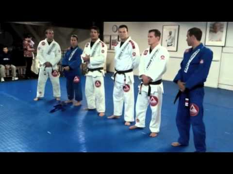 How does Gracie Barra Handles Belt Promotion Evaluation?