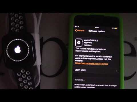 How to Update Apple Watch to watchOS 5.1.2