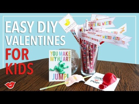 Easy Last Minute Valentine Gift Ideas for Kids! | Kimmy from Millennial Moms
