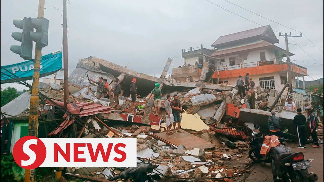 Search underway after strong quake kills at least seven in Indonesia
