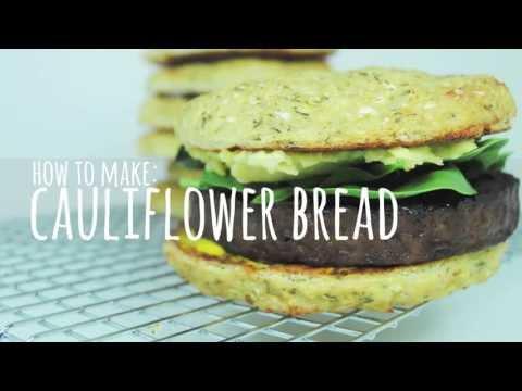 Cauliflower Bread - Gluten Free Bread Recipes