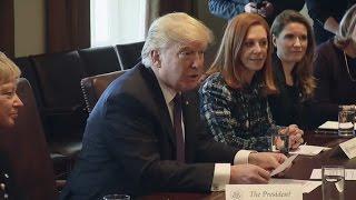 President Trump Participates in Women