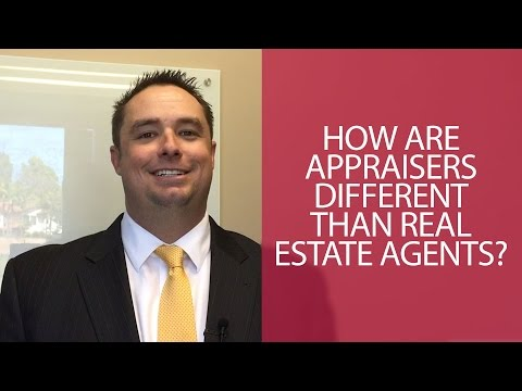 How Are Appraisers Different than Real Estate Agents? - San Diego Real Estate Career