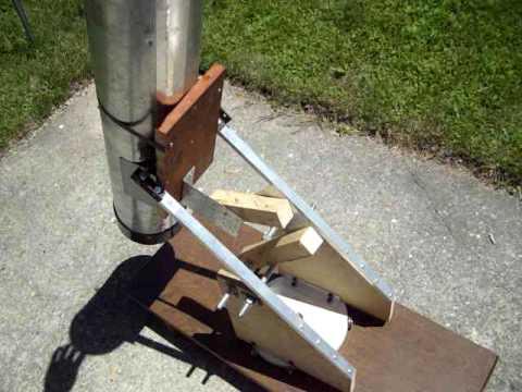Old Homemade Newtonian Telescope