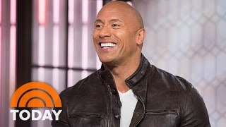 Dwayne Johnson On 'Fate Of The Furious,' 'Baywatch' And His First Car | TODAY
