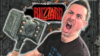 Blizzard created Warcraft, Starcraft, Diablo and many other iconic games that inspired a legion of books, figures, comics & much more. TheBigJB shows us his impressive Blizzard collection in Part 1  Watch Part 2 HERE: http://youtu.be/ryYoGnGuQ7k  Here is Josh