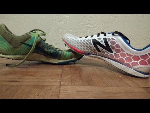 Difference between Track and Cross Country Spikes